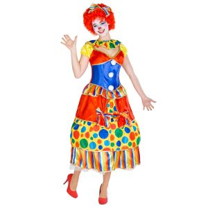 Frauenkostüm Clown Fridoline
